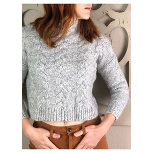 Madewell Knit Wool Acrylic Blend Sweater